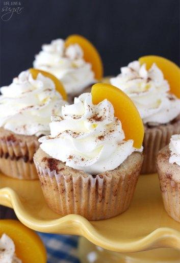 Peach Cobbler Cupcakes Favorite Desserts