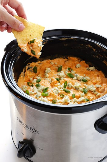 Slow cooker Buffalo Chicken Dip Quick Appetizers for Easy Entertaining