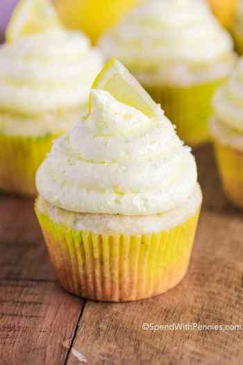 Lemon ZUcchini Cupcakes | Easy Desserts Made From Zucchini