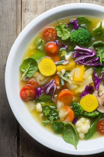 Detox Soup | Low Carb Lunch Recipes