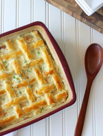 Chicken Pot Pie | Easy Puff Pastry Recipes