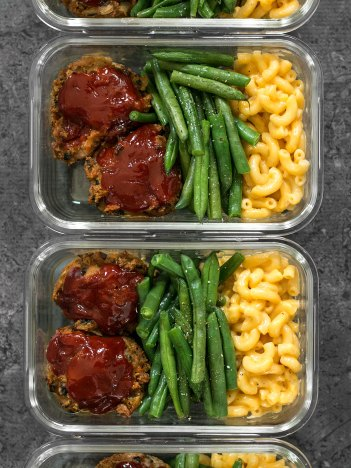 Garden Vegetable Turkey Loaf | Meal Prep Lunch Recipes
