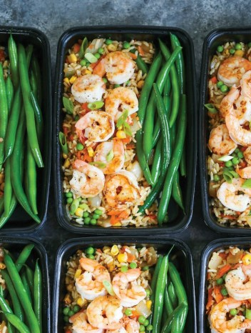 Shrimp Fried Rice Meal Prep | Meal Prep Lunch Recipes