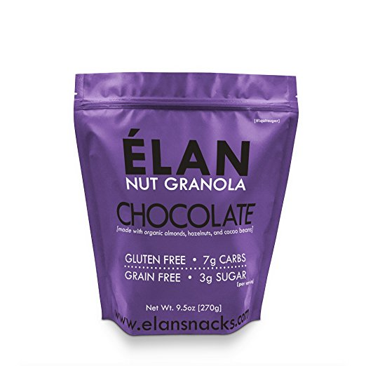 Elan Granola Shots | Healthy Keto Approved Snacks You Can Find on Amazon