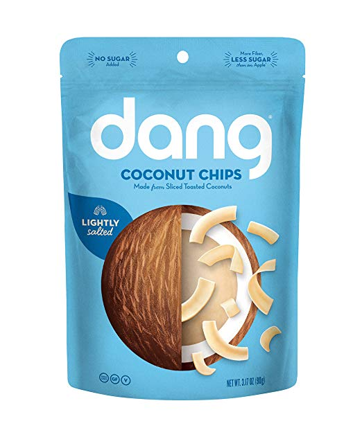 Dang Toasted Coconut Chips | Healthy Keto Approved Snacks You Can Find on Amazon