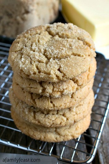 Brown Sugar Cookies | Fall Cookie Recipes