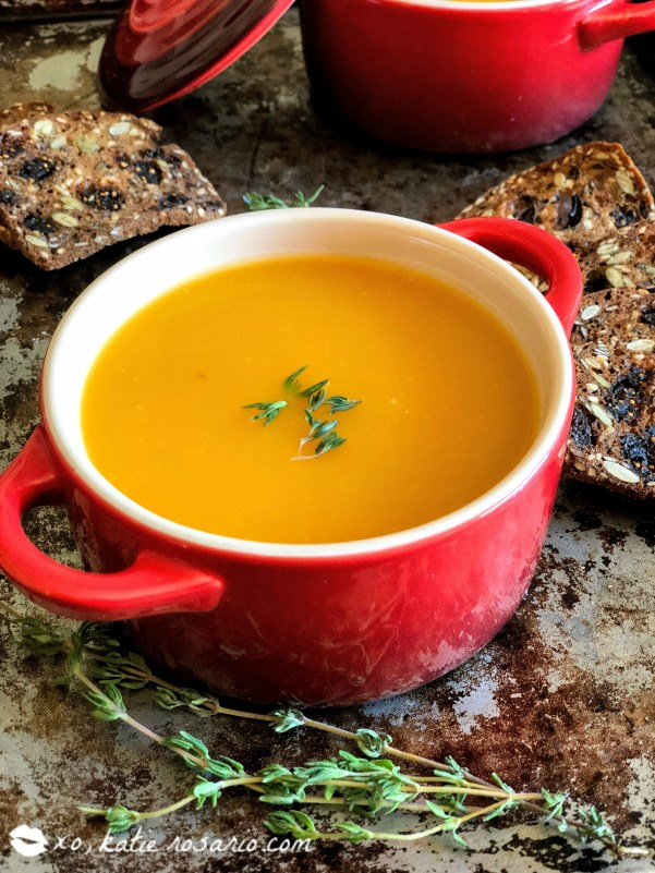 Homemade Butternut Squash Soup by @xokatierosario