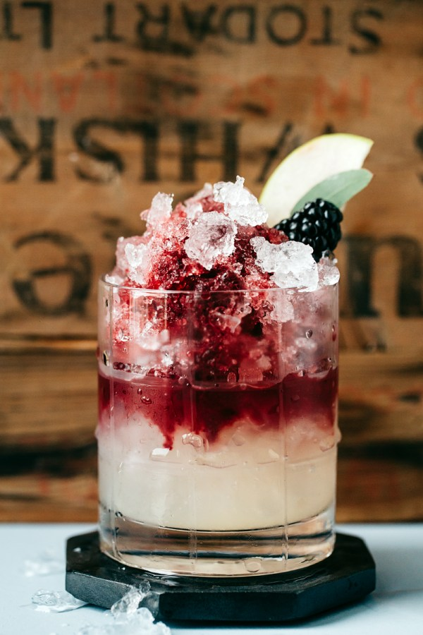 The Italian Bramble | Mocktails Non-Alcoholic Drinks