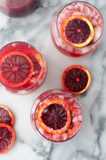 Blood Orange Sangria | Fall Sangria Cocktails