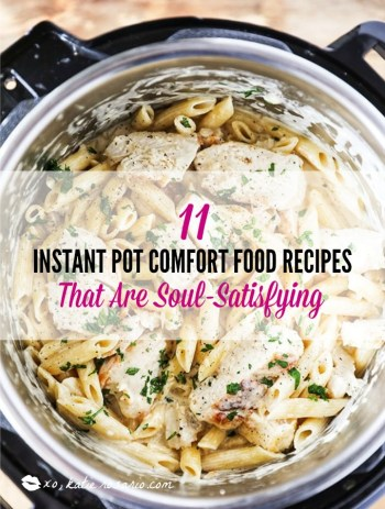 Learn how to make comfort foods you know and love in a one-pot wonder machine like the instant pot. These instant pot comfort food recipes may seem too good to be true. With a little cleanup, you can have delicious soul-satisfying instant pot comfort food meals you can't wait to make. #xokatierosario #instantpotrecipes #instantpotcomfortfood #fastcomfortfood