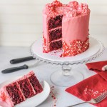 How to Make Spicy Red Velvet Cake from Scratch. Learn how to spice up your Valentine's Day with this Red Hot Red Velvet Cake. My favorite part is the hint of cinnamon and cayenne pepper that really makes this cake its own. Making red velvet cake recipe from scratch is so easy and is always a favorite!