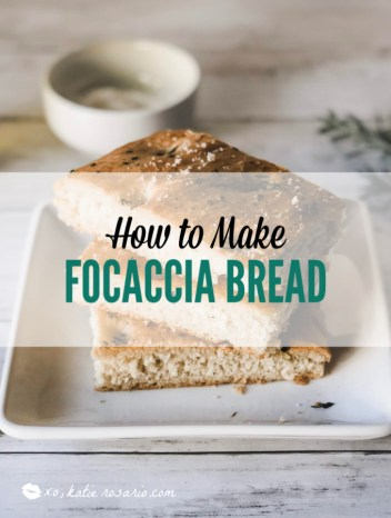 Have you ever dreamed about baking homemade bread, fresh out the oven? I'll give you my best bread making tip and tricks so any beginner baker can make homemade bread recipe easily. Learn how to make easy homemade focaccia bread that everyone will love. #xokatierosario #homemadebreadrecipes #easyfocacciabreadrecipe #easybreadrecipe
