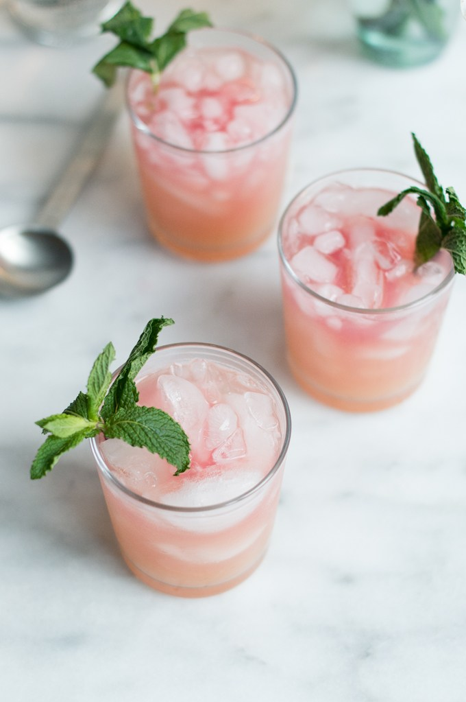 Pink Senorita | These Galentine's Day inspired cocktails are fun twists on classic cocktails that'll make your gal pal day festive! Choose from strawberry Moscow mules or homemade Frosé, cotton candy champagne or a pink senorita. These Galentine's day cocktails will elevate your next girls night! #xokatierosario #galentinesdaydrinks #girlsnightideas #girlsnightcocktails