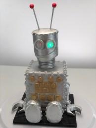 Happy Robot Cake