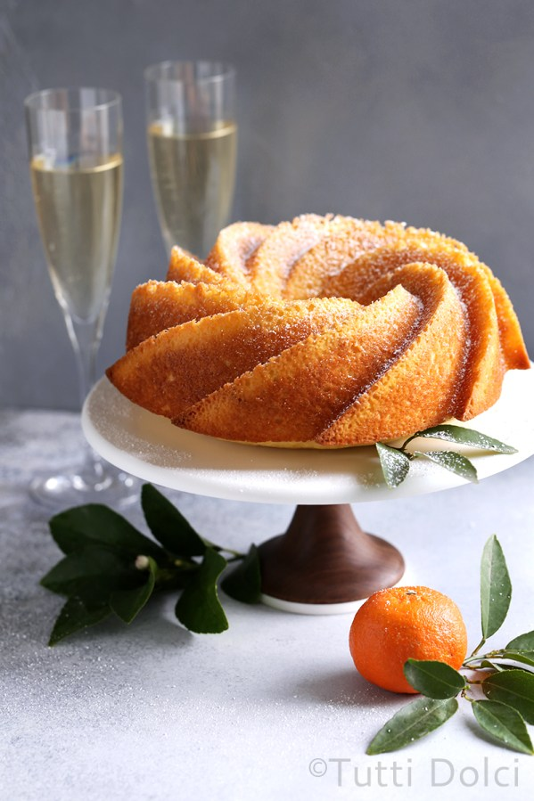 Champagne Bundt Cake | Champagne is a luxurious ingredient that elevates each dessert and makes them the star of the show. These desserts taste not only incredible like a glass of champagne but also look stunning. These Champagne desserts are rich and decadent and perfect for celebrating Mother's Day, Bridal Showers or just because it's the weekend! #xokatierosario #champagnedesserts #champagnerecipes #mothersdayrecipes