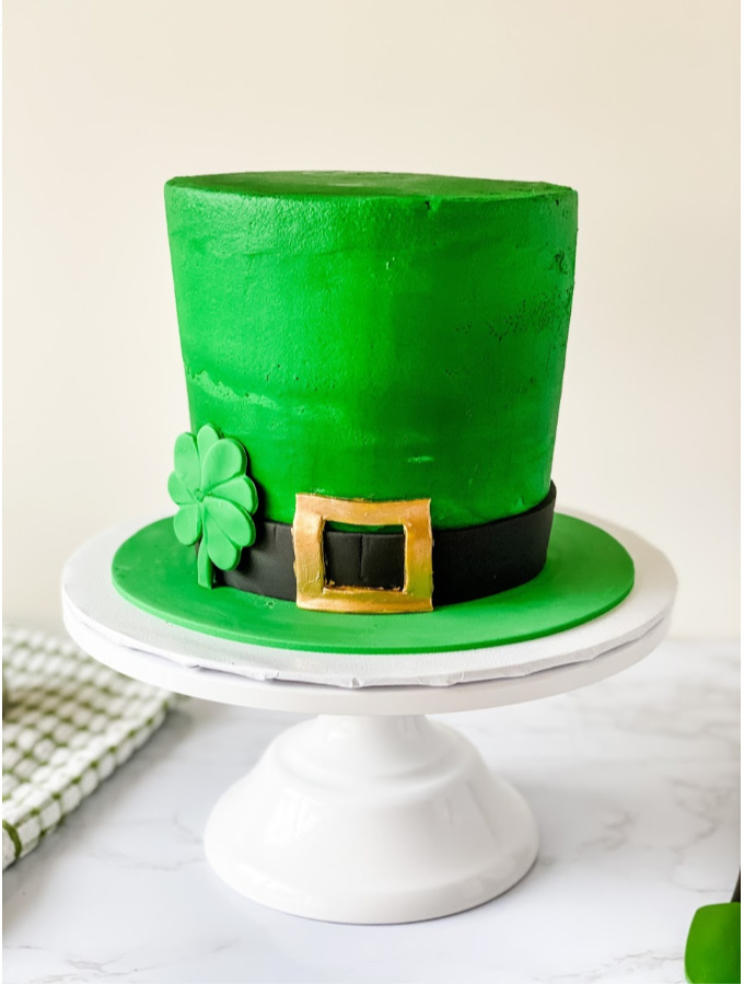 Pleasant Luck Of The Irish Leprechaun Hat Cake Tutorial For Newbies Xo Birthday Cards Printable Trancafe Filternl