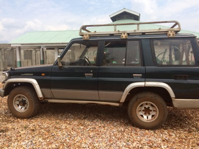 Our trusty Lucy the Land Rover