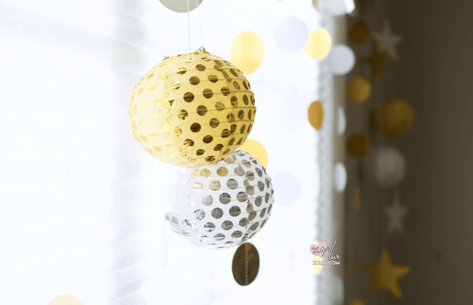 party city decor lanterns