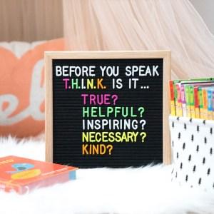 FeltLikeSharing Neon Letters