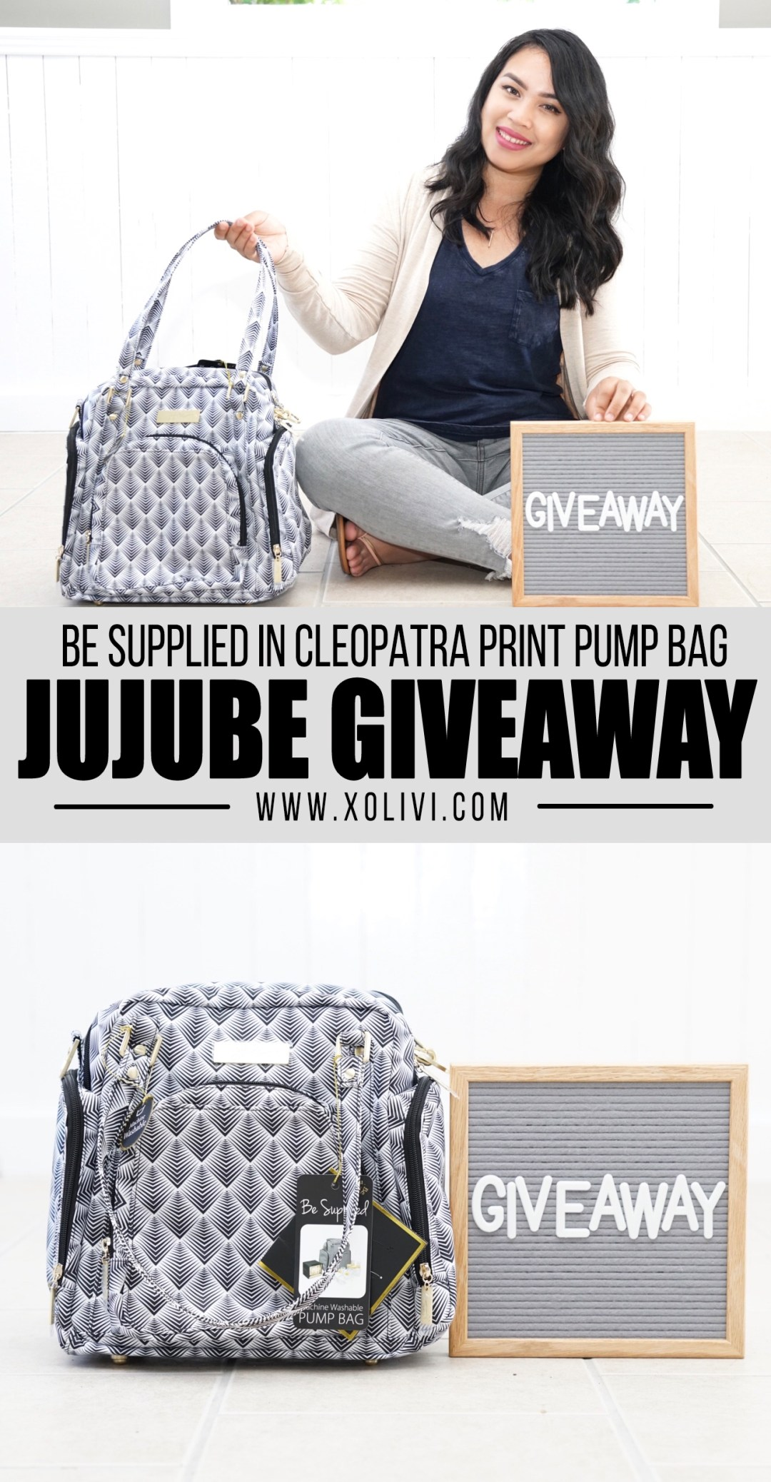 jujube be supplied pump bag