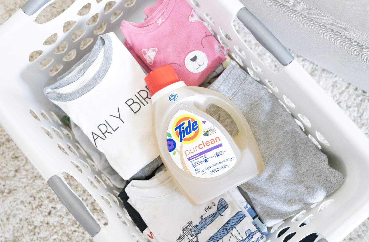 Tide purclean Honey and lavender