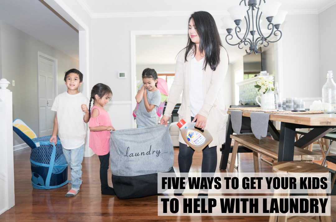 5 Ways To Get Your Kids To Help With Laundry