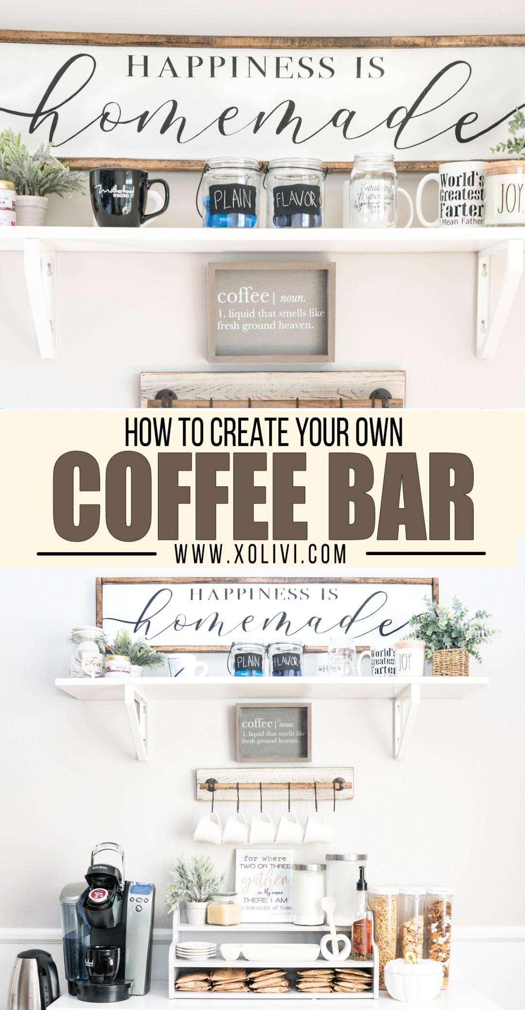 coffee bar decor ideas