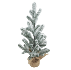 Flocked Christmas Tree, Medium