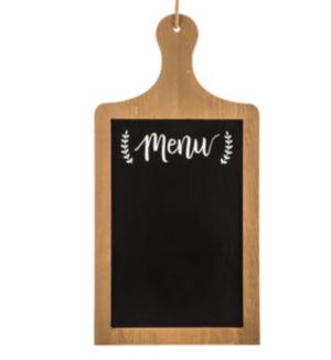 Menu Paddle Board