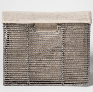 Lined Woven Crate