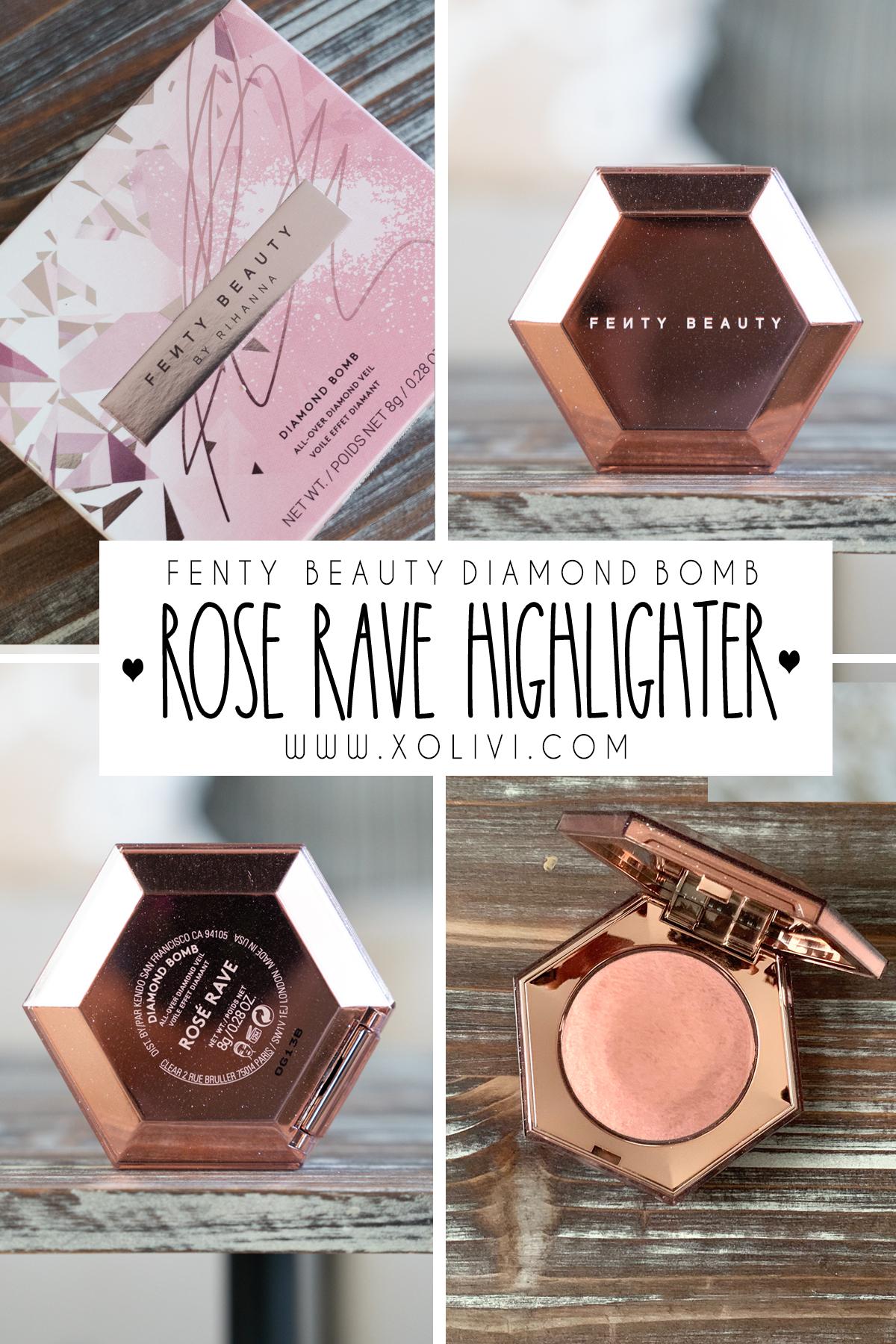 fenty beauty diamond bomb all over veil rose rave