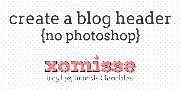 create a blog header in gimp