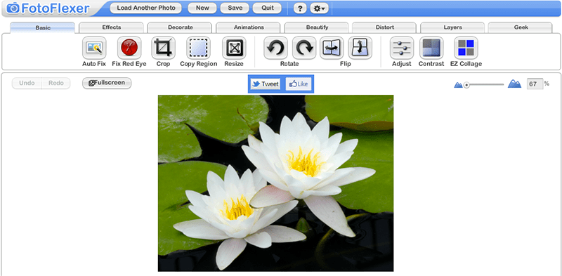 FotoFlexer - alternatives to photoshop online