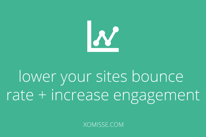 How to reduce your blogs bounce rate