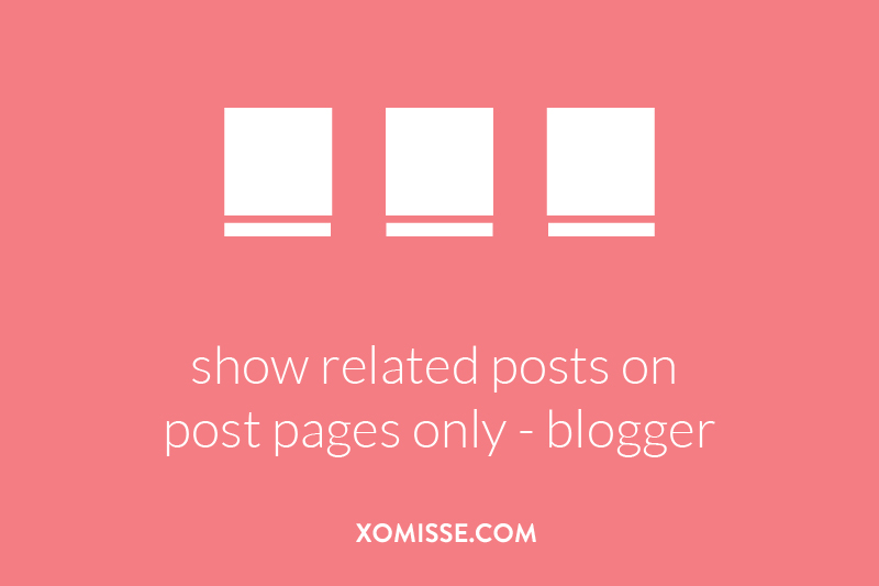 show related posts on post pages only (hide on homepage)
