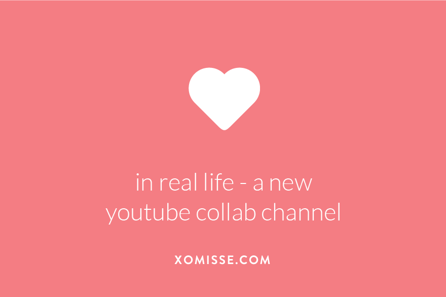 In Real Life is a new YouTube collaborative channel for content creators from all genres