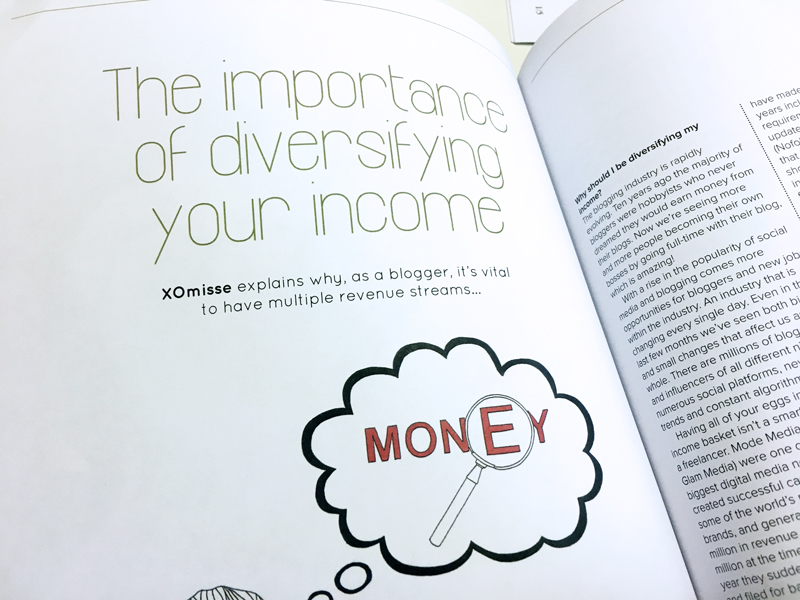 The importance of diversifying your income as a blogger and freelancer - Blogosphere Issue 11 with Zoe Sugg, Zoella.