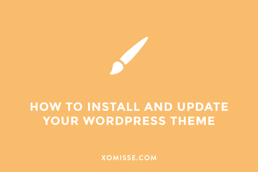 How to find, change, install and update your WordPress theme