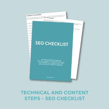 Free SEO Checklist (Content and Technical)