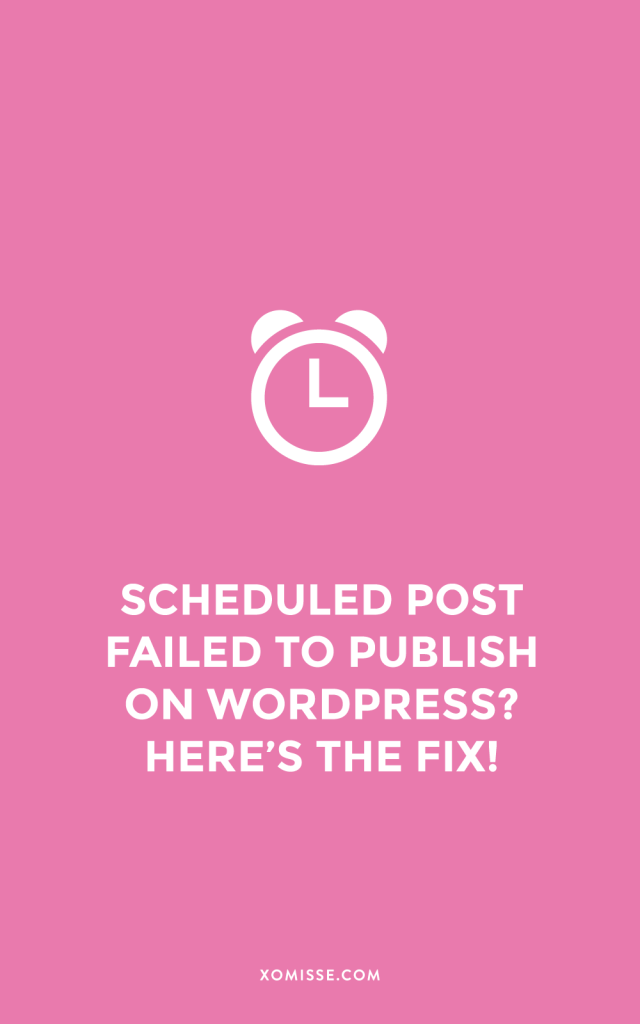 Scheduled post failed to publish on WordPress? Here's how to fix it!