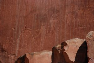 Pictographs Capital Reef State Park