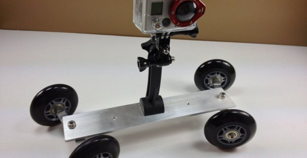 DIY GoPro camera dolly