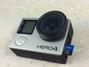 Memory card care Hero4