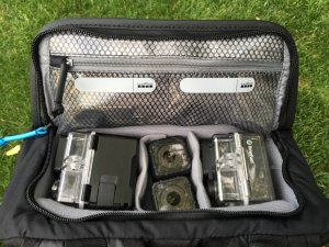 GoPro Seeker top camera compartment