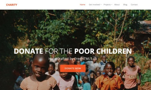 20+ Free Bootstrap Charity Templates