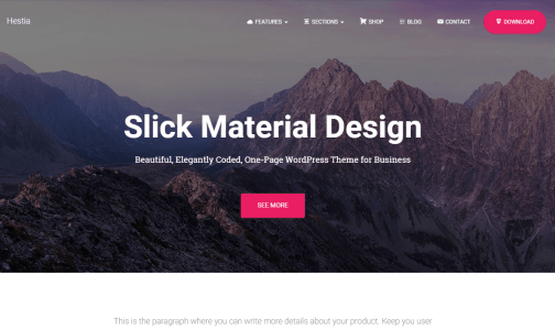30+ Free Material Design WordPress Theme