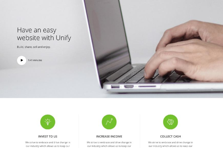 Free Bootstrap Business Website Templates