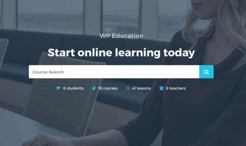 WP Education LMS WordPress Theme