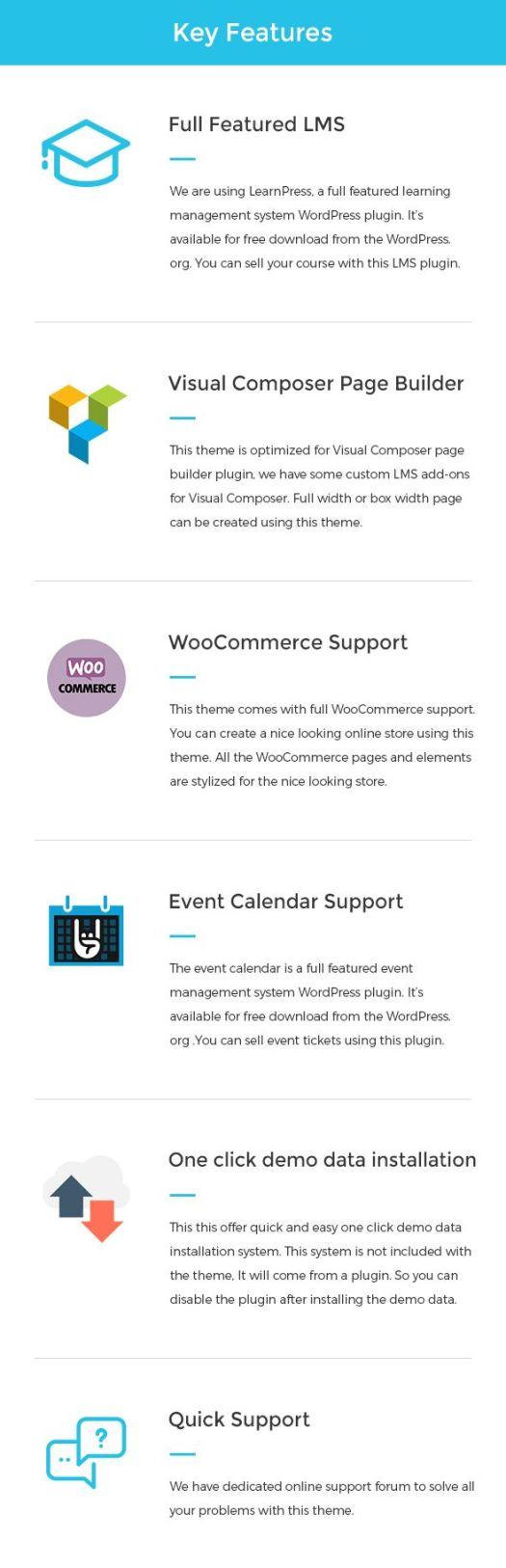 WP Education – The Ultimate WordPress LMS Theme