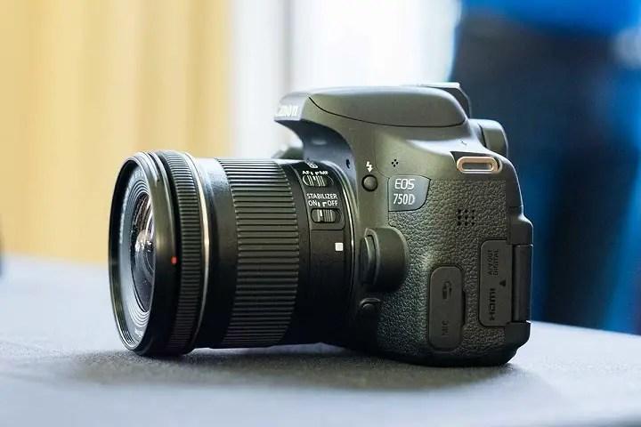 Canon EOS 750D Good Mid-Range Youtube Cameras
